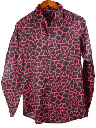 Men's Shirt Style Giraffe -...