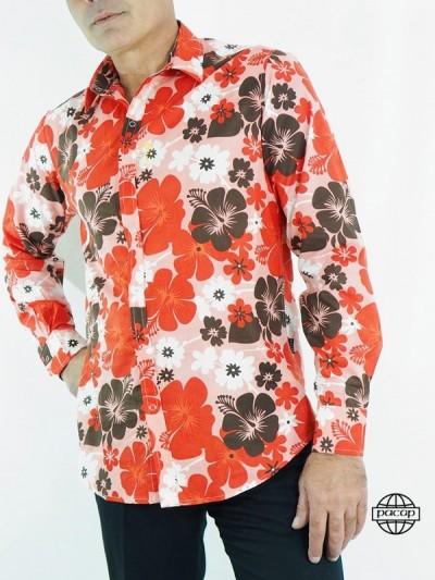 Shirt Male pattern Floral...