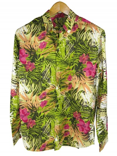 Men's Shirt Green Jungle...