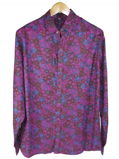 chemise violette pour homme