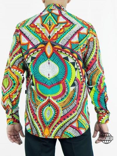 Shirt Collar Cotton Italian...
