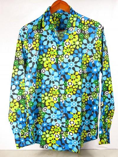 Shirt in Coton Fleurs...