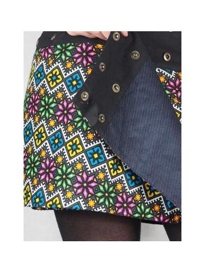 Short Skirt Reversible...