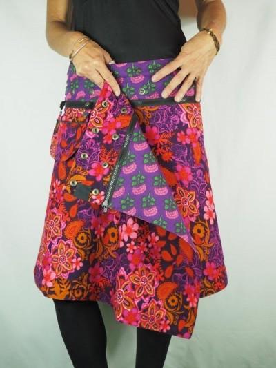 Reversible Zip Skirt and...