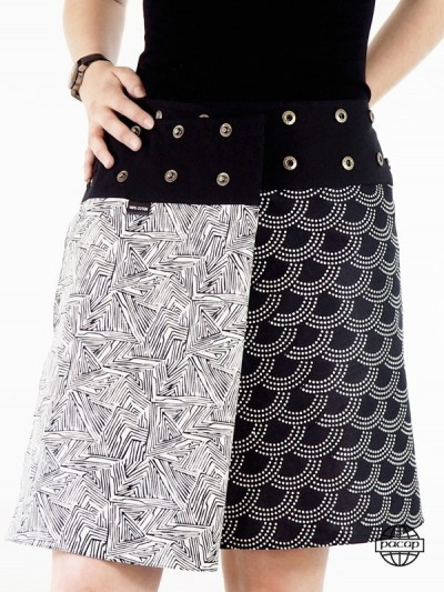 Black and White Reversible...