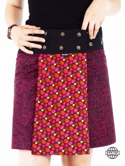 Red Skirt Mi-Saison...
