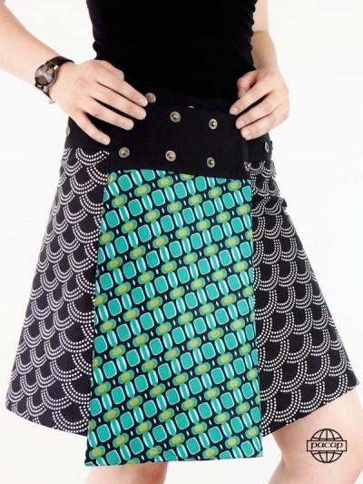 Skate Skirt in Coton-Dispo...