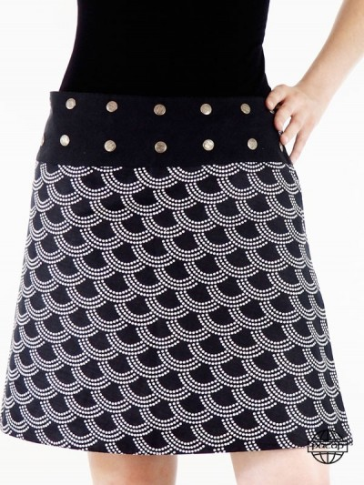 Skate Skirt in Coton-Dispo...