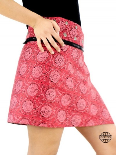 "Skirt Woman Red ""3 Lengths""..."