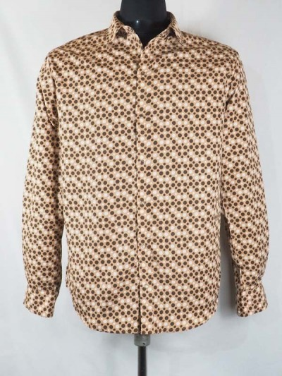 Shirt in Coton Marron at...