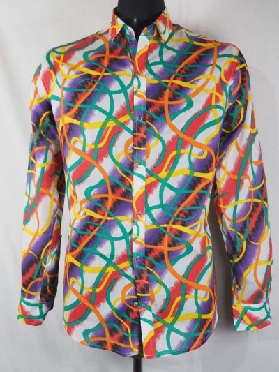 Shirt Cotton Multicolor...