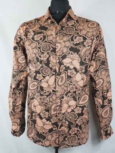 Shirt Salmon Man Baroque -...