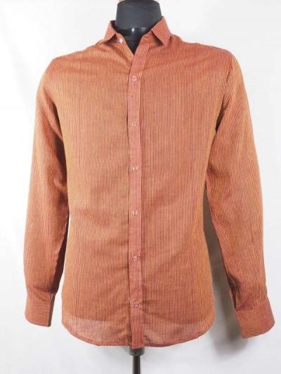 Chemise en Coton à Rayures...