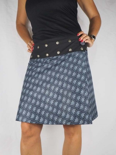 Ethnic Skirt Red and Blue...