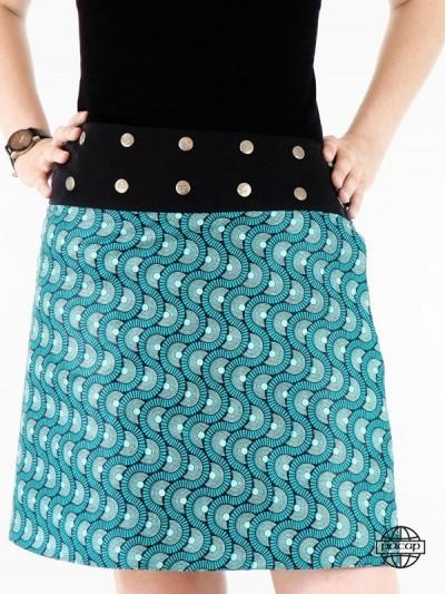 Asymmetric skirt and...