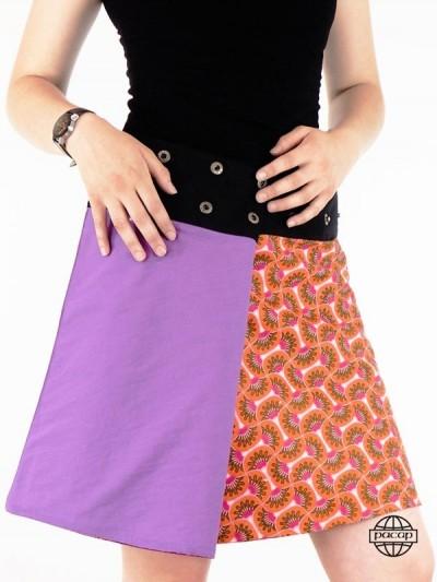 Skirt Woman Straight Cut...