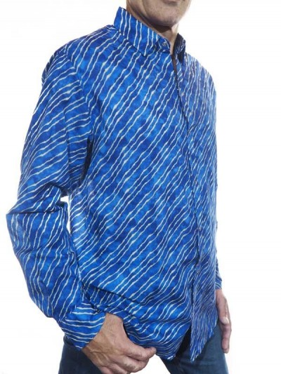 Chemise Rayée Bleue pour...