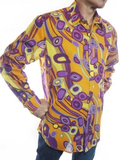 Man Shirt Colorful Gypsy -...