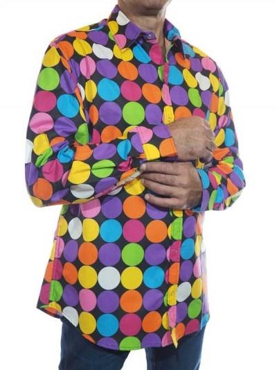 Chemise de Fête à Pois...