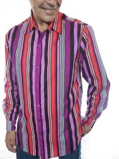 Italian Shirt Collar with...