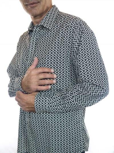 Shirt Geometrischer Glamour...
