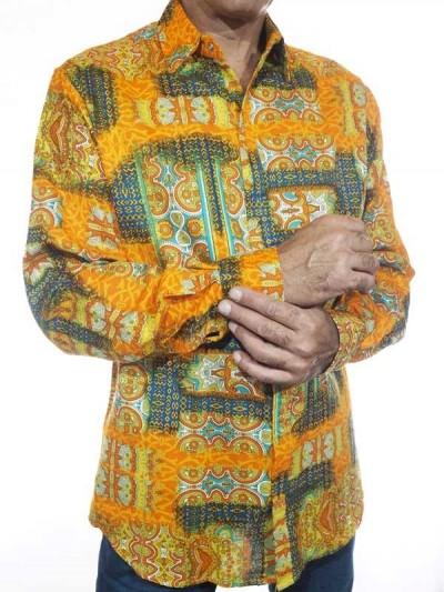 Chemise  Colorée  Ethnique-...