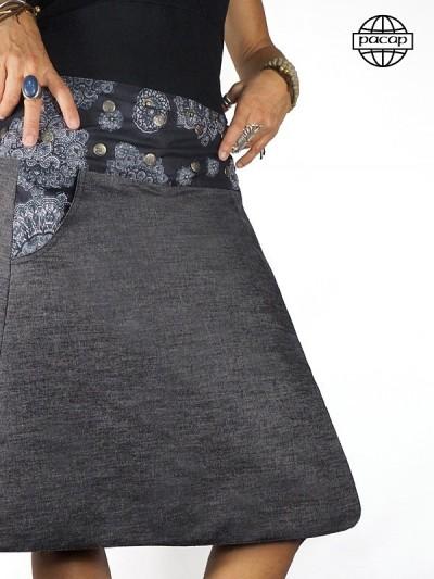 Jupe jeans Réversible 3...