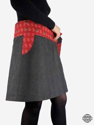 "Skirt ""Mini-Midi-Maxi"" in..."
