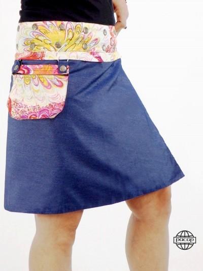 Skirt Zippée Woman Ceinture...
