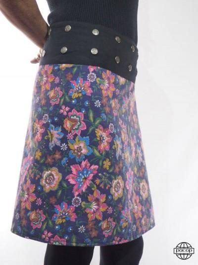 Skirt Reversible Velvet...