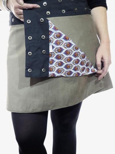 "Skirt ""Midi"" Woman Ronde in..."