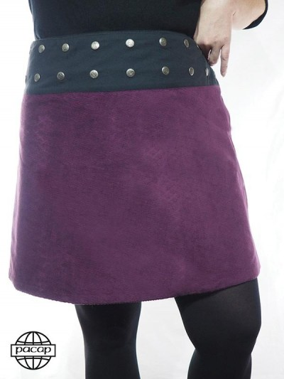 "Skirt Trapèze ""Mi-Longue""..."
