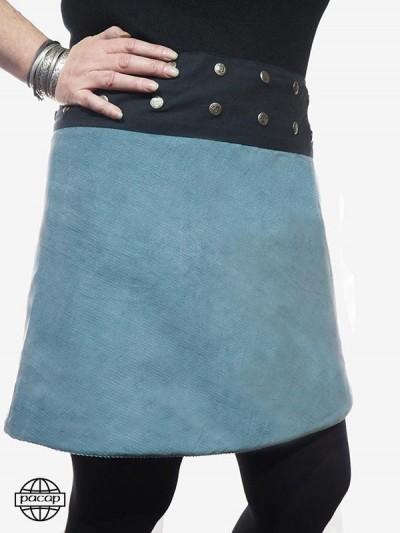 """Mi-Longue"" skirt to Frise..."