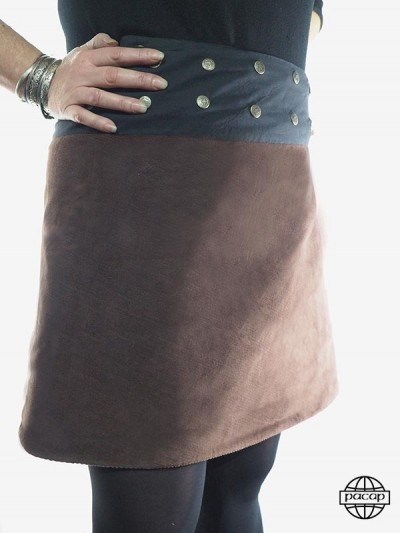 Skirt Longue to Carreaux...