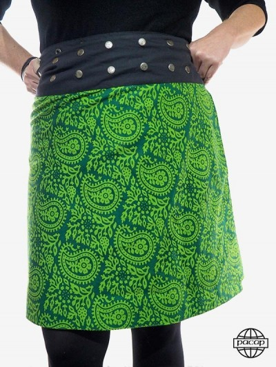 "Skirt ""Maxi"" Green Plus..."