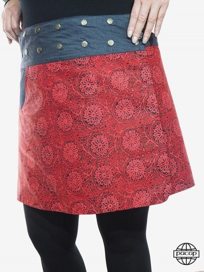 "Skirt ""2 Lengths"" Woman..."