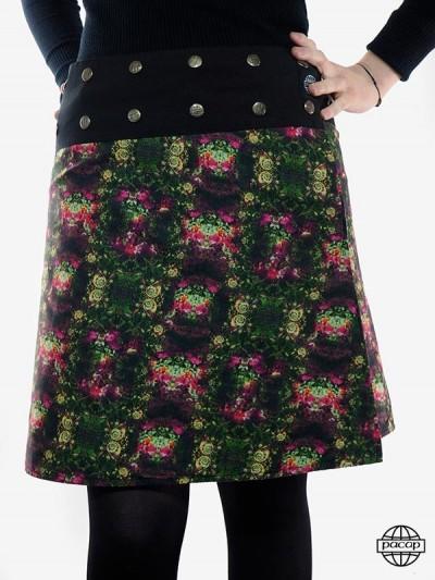 """Skirt Velvet """"Mi-Long""""..."""
