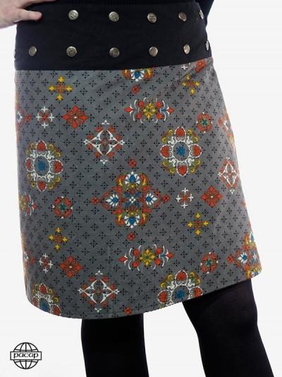 Suede Skirt Winter...