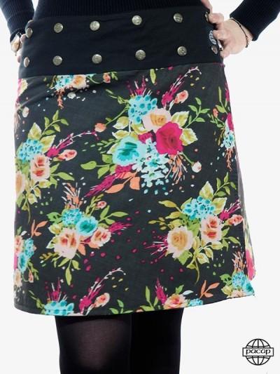 """Skirt """"Midi"""" Velvet Belted..."""