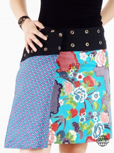 Flare Skirt Blue Cup...