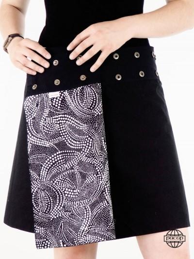 Black Skirt trapeze - 3...