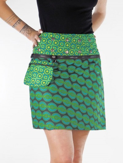 Flare Skirt Green Cup Right...