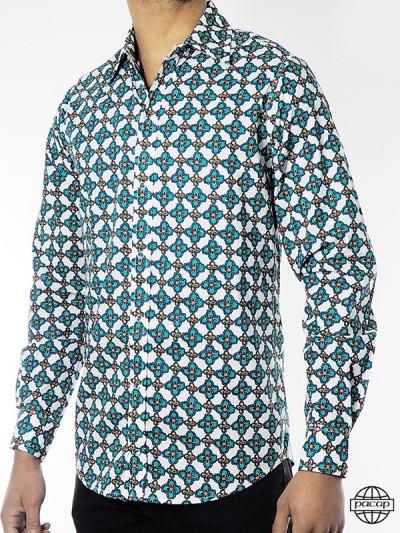 Man Shirt Vintage 70'S -...