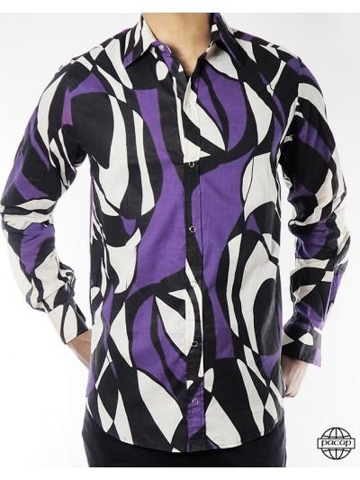 Shirt Latino Geometric...