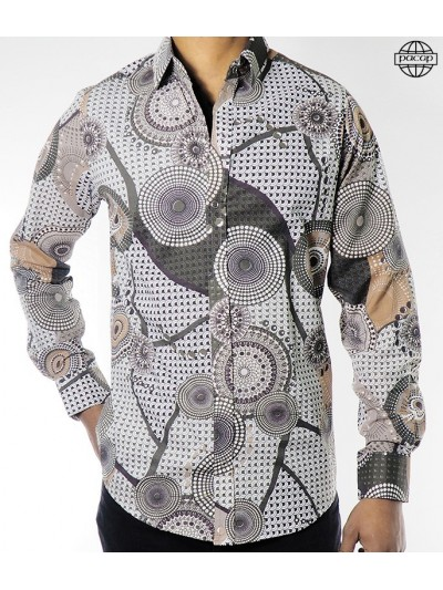 Shirt Male Pattern Vintage...