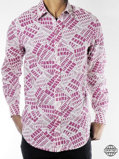 Shirt Waisted Rose Wax...