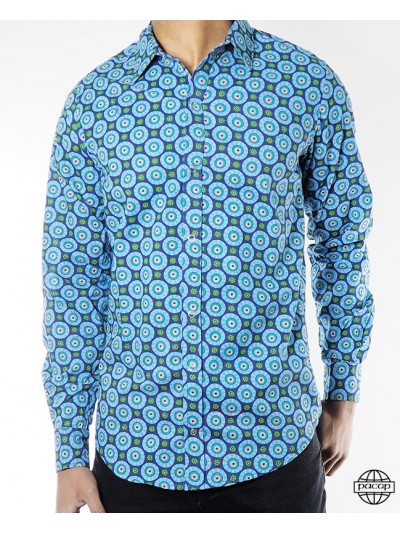 Cotton Shirt Psychedelic...