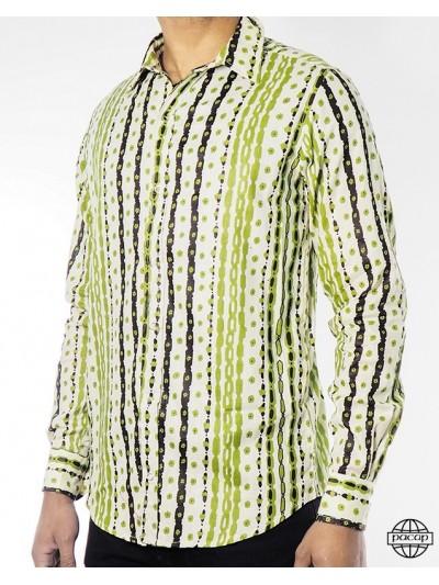 Man Shirt Vintage Green...