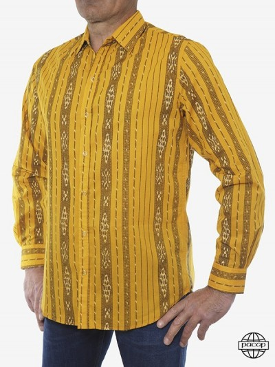 Vintage Stripe Shirt Yellow...