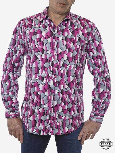 Men's Shirt Tri-Colore...